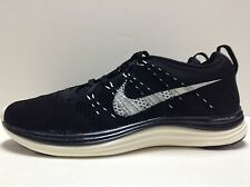 Nike Women's Flyknit Lunar1+ Running Shoes Black, Sail 554888 011