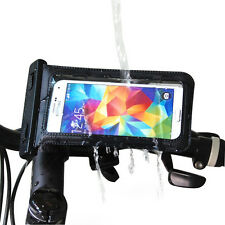 Waterproof Bike Bicycle Mount Holder Case Bag for Samsung Galaxy S4 S5 Note 2 3