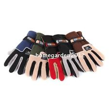 Men Gloves Full Finger Fleece Outdoor Windproof Winter Ski Cycling Skiing Hiking