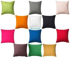 "IKEA GURLI 100% COTTON 20""x 20"" DECORATIVE PILLOW CUSHION COVERS, VARIANT COLORS"