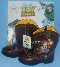 Disney Toy Story Light-up Boots New Size 6 9 10 11 Toddler Youth Woody Alien