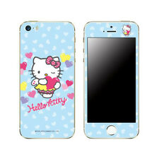 Hello Kitty Skin Decal Stickers iPhone 6 Plus Universal Mobile Angel Blue Heart
