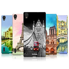 HEAD CASE DESIGNS BEST OF PLACES SET 3 CASE FOR HUAWEI ASCEND P7 LTE