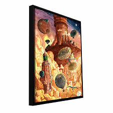 ArtWall Luis Peres 'Rusting World' Floater Framed Gallery-wrapped Canvas