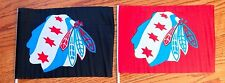 Chicago Blackhawks Chicago Flag Flag