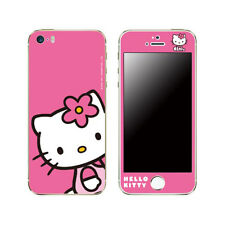Hello Kitty Skin Decal Sticker iPhone Galaxy Universal Mobile Phone Sitting Pink