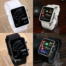 Sword Art Online Led Watch Cosplay Anime Black/White Binary Table Watch With Box