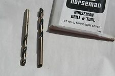4 EA   1/16 THRU 11/64  USA 175-AG BLACK & GOLD DOMESTIC MECHANICS DRILL BITS