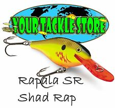 Rapala SR05 Shad Rap Pick Color & Quantity Factory Direct SR 05