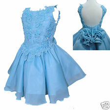 Toddler & Little Girl Formal Dress for Pageant Wedding Dance size: 1-7 yesrs old
