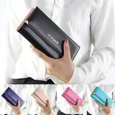 Womens Leather Wallet Case Purse Pouch With Wristlet For Apple iPhone 6 6 Plus