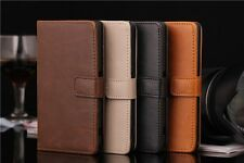 Luxury Flip PU Leather Stand Wallet Case Cover For Sony Xperia Z1 Mini Compact