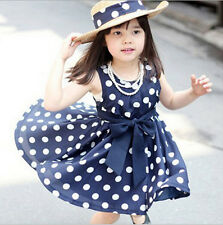 Cute Dot Girl Dress Children Clothing Kids Clothing Girls Polka Dot Dress New