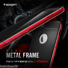 "Spigen Neo Hybrid Metal Frame Case For iPhone 6 4.7"" & 6 Plus"