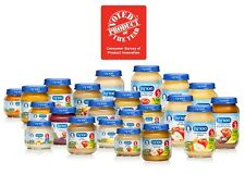 10 x Nestle MATERNA Kosher BABY FOOD Fruit Puree Vegtable MASHED Gerber Jar BIO