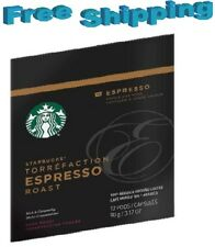 Starbucks Verismo Coffee Pods ESPRESSO ROAST  You Pick The Size FREE SHIPPING