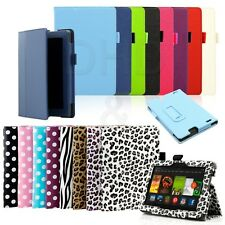 """Folio Flip PU Leather Case Stand Smart Cover for Amazon Kindle Fire HD 7"""" 2013"""