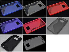 Multi Color S-Types TPU Silicone CASE Cover For Samsung Galaxy S II S2 I9100