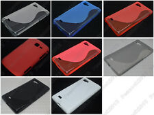 Multi Color S-Types TPU Silicone CASE Cover For LG Optimus 4X HD P880