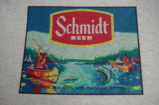 Schmidt Beer Ash Gray Tee Shirt - Indian