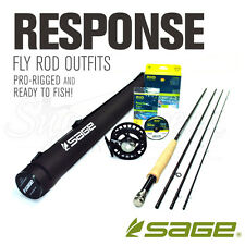 NEW - Sage Response 590-4 Fly Rod Outfit  - FREE SHIPPING!