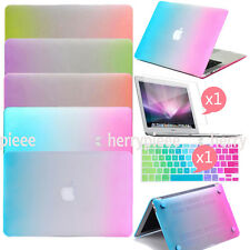 3IN1 Colorful Rainbow Skin Hard Shell Case Cover for Apple Mac MacBook Accessory