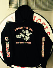 "HELLS ANGELS BIG HOUSE CREW ""OUR LAWS"" SUPPORT HOODIE"