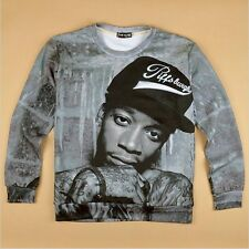 Hip Hop rock pullover print singer punk hoodies 3D sweatshirts Funny SWEATER NEW