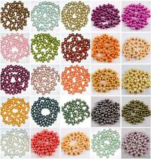 7-8mm Cultured Rice Oval Freshwater Pearl Top Drilled Loose Freeform DIY Beads