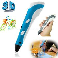 3D Printing Pen 3Doodler Drawing Stereoscopic Crafts Printer + 3 FREE FILAMENTS