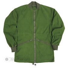 BRITISH ARMY ISSUE COLD WEATHER FLEECE GENUINE OLIVE GREEN CAMPING USED