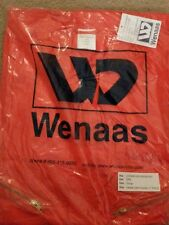 "WENAAS COVERALLS W/1"" REFLECTOR STRIPING  ORANGE   BIG &TALL AVAIL"