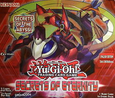 YuGiOh Secrets of Eternity SECE Rare 1st Edition Choose from list