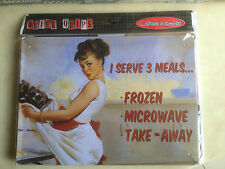 HIGH QUALITY NEW DECORATIVE HUMOROUS WALL PLAQUE STEEL RETRO VINTAGE MEALS