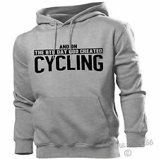 And On The 8th Day God Created Cycling Hoodie Men Women Cyclist Track Road Bike