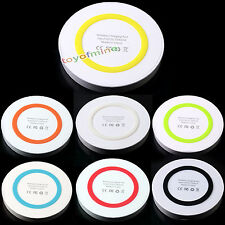 Qi Wireless Power Pad Charger for iPhone Samsung S3 S4 S5 Note2 3 Nokia LG Nexus