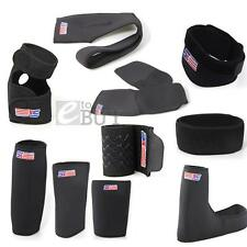 Black Neoprene Patella Black Elastic Knee Brace Fastener Support Guard Gym Sport