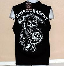 SONS OF ANARCHY SOA SAMCRO Grim Reaper Mens HUNK GYM MUSCLE T SHIRT M L XL XXL