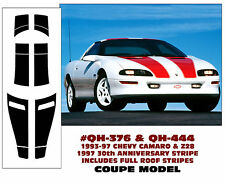 QH-376 QH-444 1993-97 CAMARO & Z28 COUPE RACING STRIPE - 30TH ANNIVERSARY