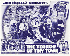 The Terror of Tiny Town - 1938 - Movie Poster