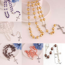 Imitation Pearl Pendant Necklace Beads Silver Chains A Variety Of Color Selling
