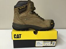 "CAT Caterpillar P89940 Diagnostic Hi 8"" Steel Toe Waterproof 200 gm Boots 10W"