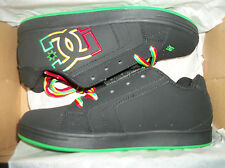 DC Shoes NET SE Black Multi color logo   Tennis shoes  Size 5.5 New
