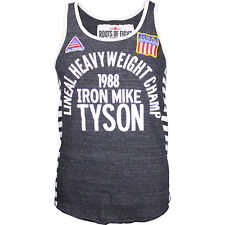 Roots of Fight Iron Mike '88 Triblend Striped Tank BJJ MMA