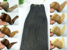 "Free 100g 20"" 22"" Long Weft(No Clips) Remy Fahsion Women Human Hair Extensions"