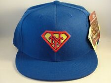 MLB New York Mets American Needle Superman Fitted Hat Cap Blue