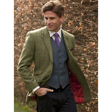 Brook Taverner - The Yorkshire Jacket By Moons Of Yorkshire Red / Navy Tweed