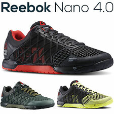 New Mens Reebok Crossfit Nano 4.0 Running Shoes Gym Jogging Trainers RRP £85 UK