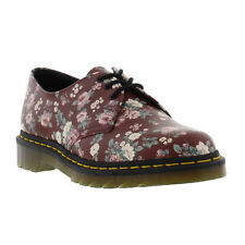 Dr Martens 1461z Womens Shoes Classic Leather Floral Lace-up Shoe Sizes UK 3 - 8