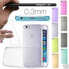 0.3MM Ultra Thin Slim Soft Gel Translucent Shell Case Cover Skin for iPhone 6